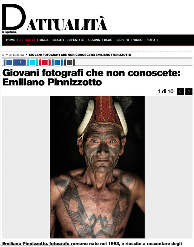 Unusual Visions  Emiliano Pinnizzotto D di Repubblica