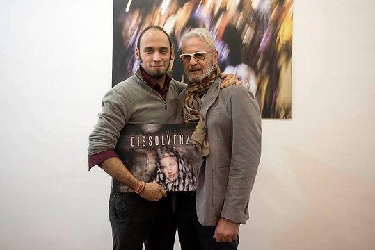 Emiliano Pinnizzotto e Paolo Sollazzo Inaugurazione Mostra Fotografica e libro fotografico Dissolvenze Graffiti