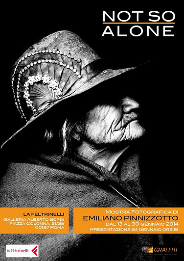 Emiliano Pinnizzotto Mostra Fotografica Not So Alone Feltrinelli