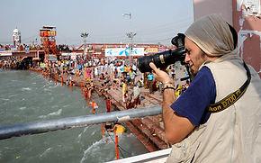 Emiliano Pinnizzotto Kumbh Mela Haridwar