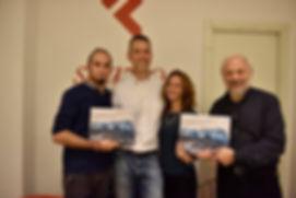 Emiliano Pinnizzotto, Paolo Beltrame, Gianni Pinnizzotto Inaugurazione Mostra Fotografica e libro fotografico Antarctica Graffiti