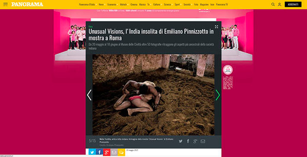Unusual Visions  Emiliano Pinnizzotto PANORAMA