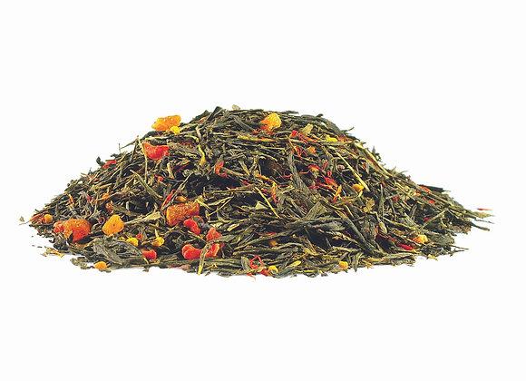 Aprikose/Honig; aromatisierte Grünteemischung; 518822