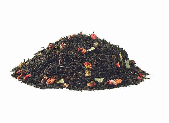 Erdbeer/Sahne; aromatisierte Schwarzteemischung; 518758