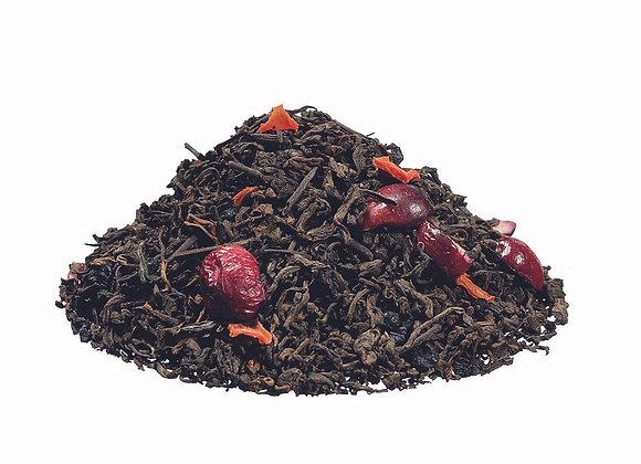 Pu Erh Cranberry; aromatisierte Schwarzteemischung; 518511