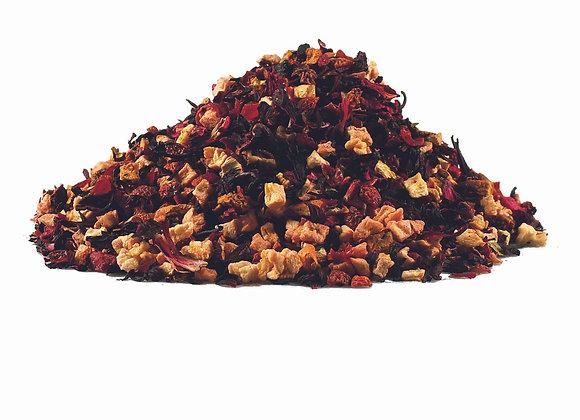 Himbeer/Sahne; aromatisierte Früchteteemischung; 520114