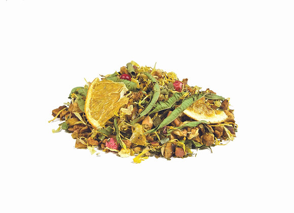 Zitrus/Waldfrucht; natürl. aromatisierte Früchte-/Kräuterteemischung; 523234