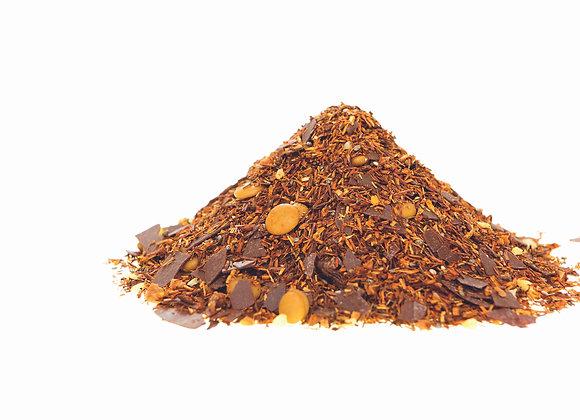 Kakao/Haselnuss/Nougat; aromatisierte Rooibos-/Honeybushmischung; 525188