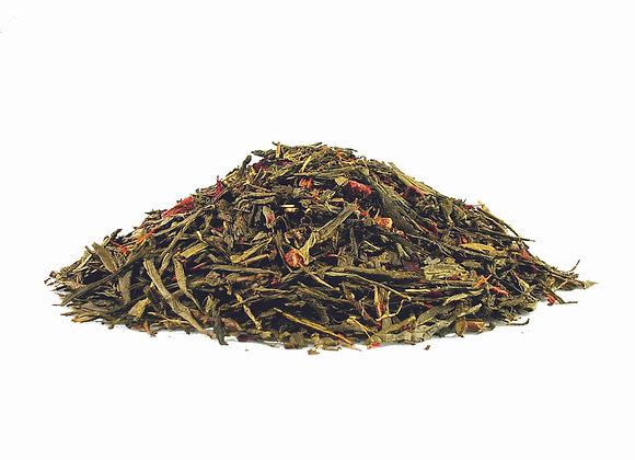 Erdbeere; aromatisierter grüner Tee; 518789
