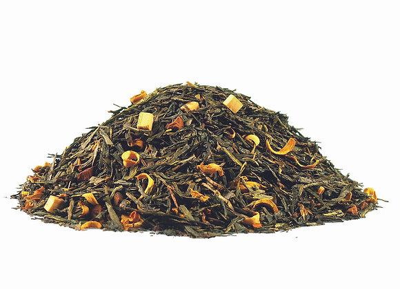 Sahne/Karamell; aromatisierte Grünteemischung; 518816