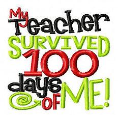 My Teacher Survived 100 Days of Me!