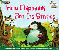 How Chipmunk Got Its Stripes