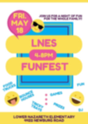 LNES Funfest Poster