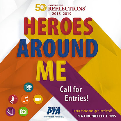 Heroes Around Me Reflection Poster