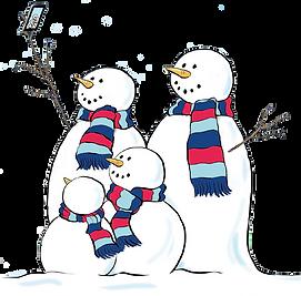 snowman family selfie.png