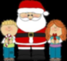 Santa with Kis