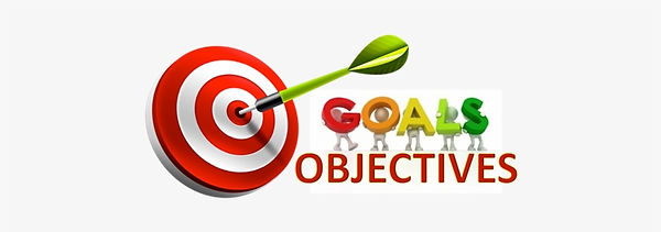 Goals Objectives Clipart