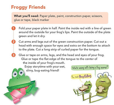 Froggy Friends Art Activity