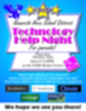 Technology Night for Parents Flyer 2018