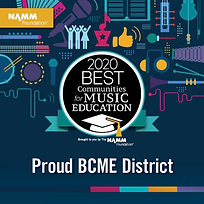 2020 Best Communities for Music Education Seal