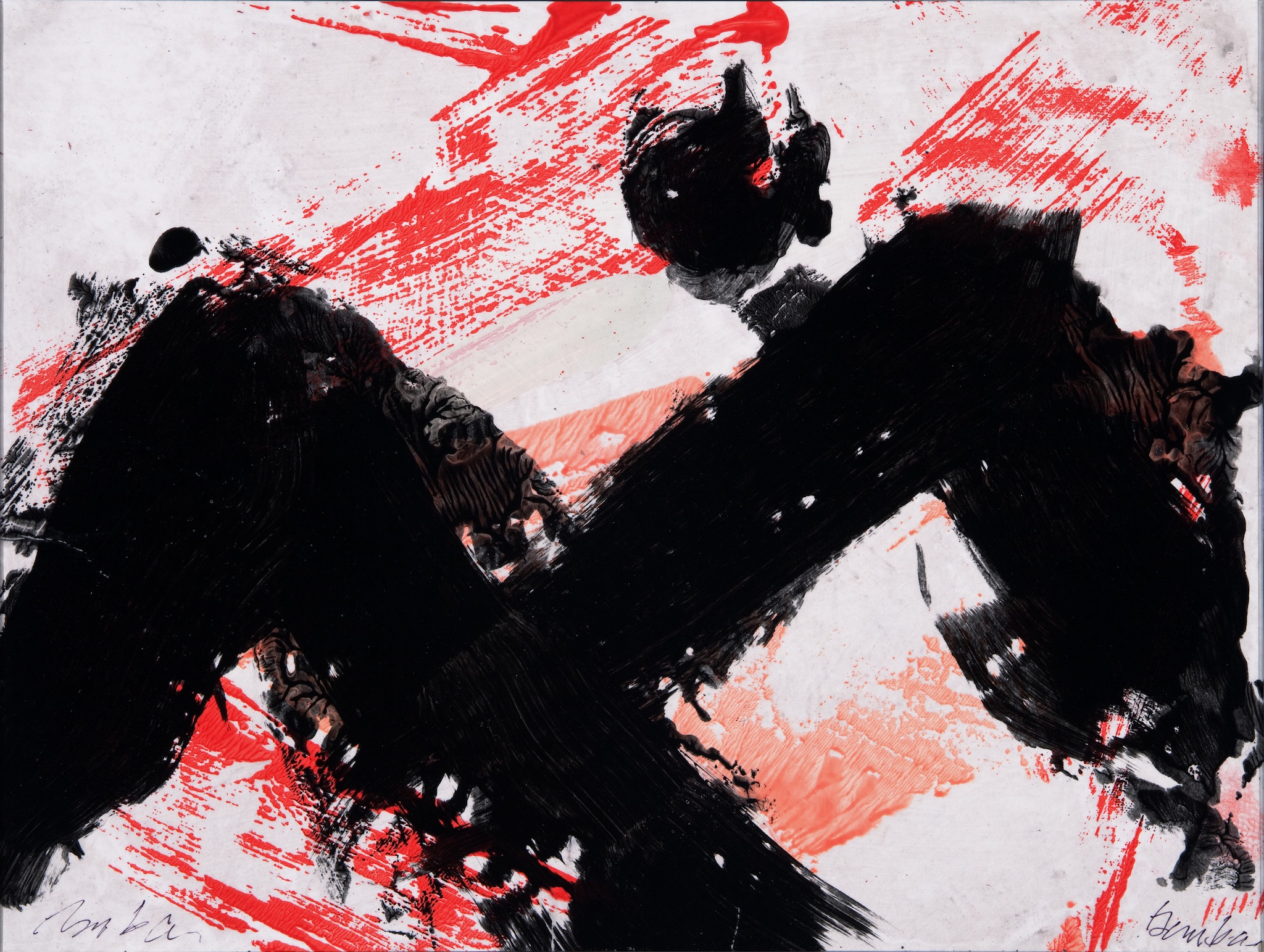 Action Painting Series No. 13, 2011