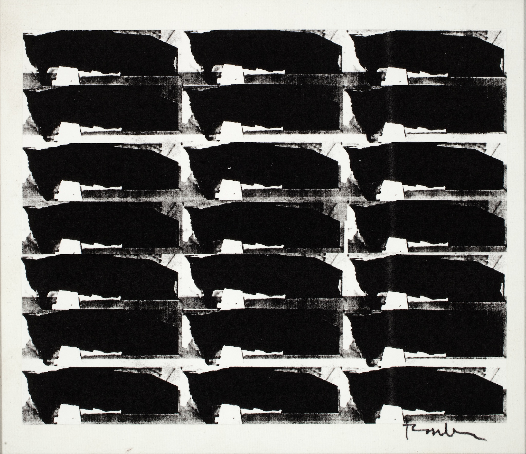 Black and White No. 3, 2009