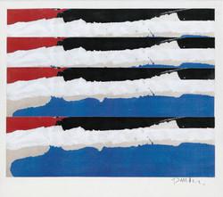 Blue, Black & Red Series No. 1, 2009