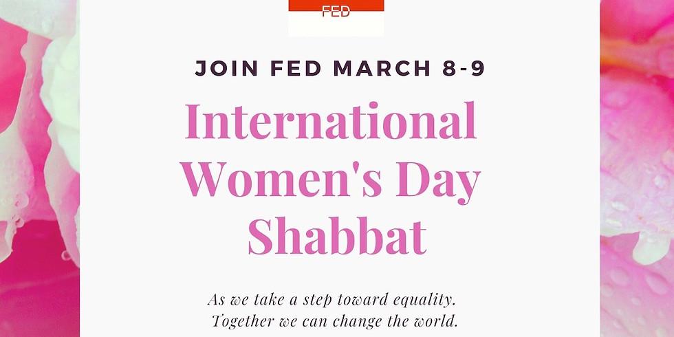 International Women's Day Shabbat