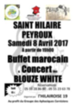 Saint Hilaire concertdes blouze white pour les aphasiques correziens 19