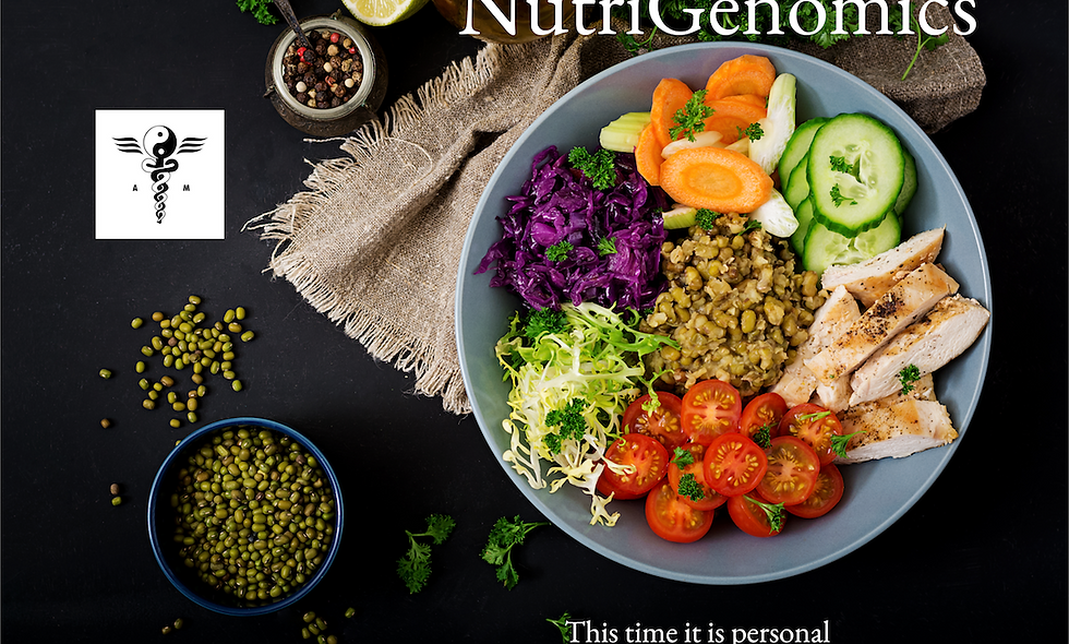 NutriGenomics Test Kit & Report