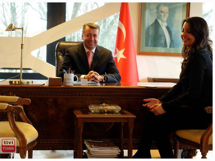 T.C. Berlin Başkonsolosu M.Mustafa Çelik