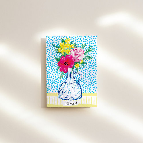 Woohoo Greeting Card