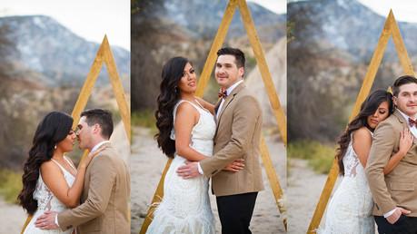 Bohemian Desert Wedding | San Bernardino, California