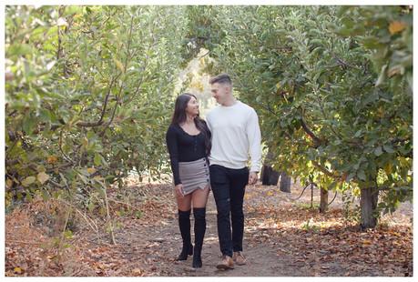 Oak Glen Surprise Proposal | SoCal Wedding Photographer