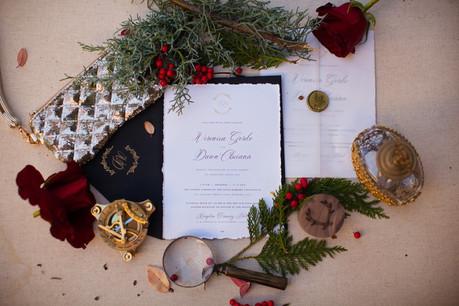 Redlands Winter Mission Wedding