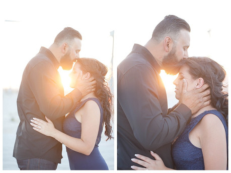 {B&T} Palm Springs Windmill Engagement Photography
