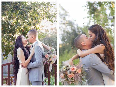 Mr. & Mrs. {L} | Oak Glen Wedding Photographer