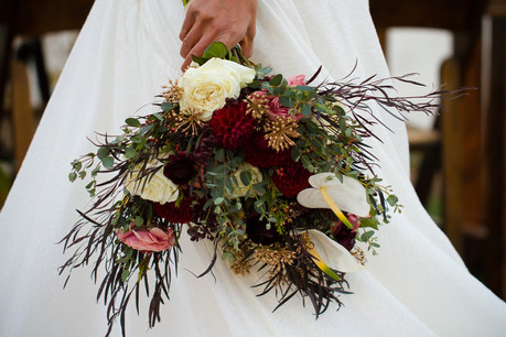 Southern California Winter Wedding at the Mission | Redlands,CA