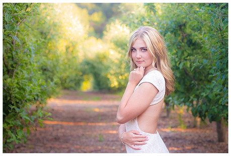 Apple Orchard Bridal Shoot | Oak Glen, California