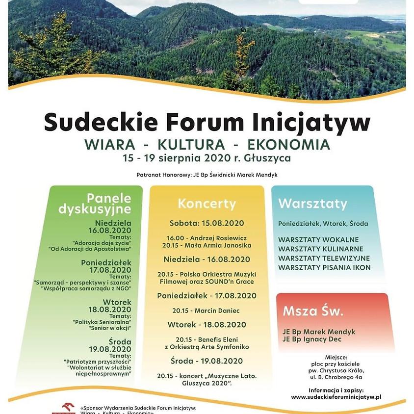 Sudeckie Forum Inicjatyw- nowy termin.