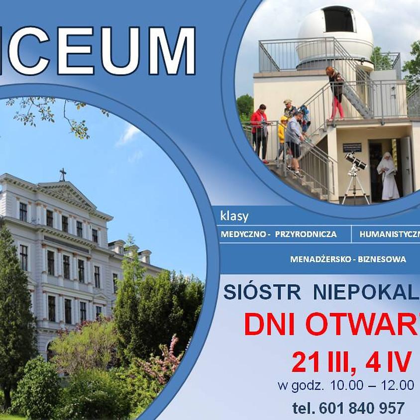 Dni otwarte w Liceum Sióstr Niepokalanek w Wałbrzychu.