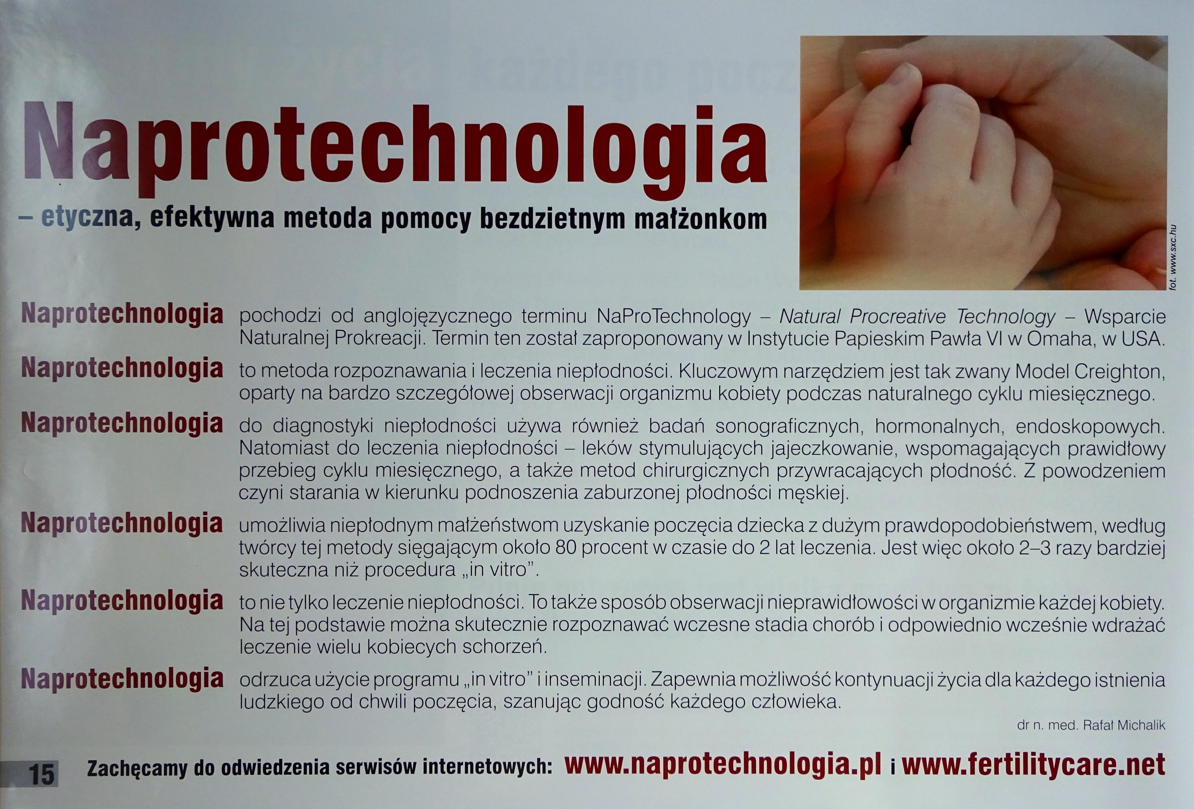 Naprotechnologia.
