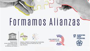 Alianza con el Parlamento de Jóvenes de Quito
