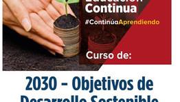 2030- Objetivos de Desarrollo Sostenible