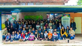 """Socialización de Proyecto de Vinculación """"Bomba de Semillas"""" en  la Unidad Educativa AMAUTA"""