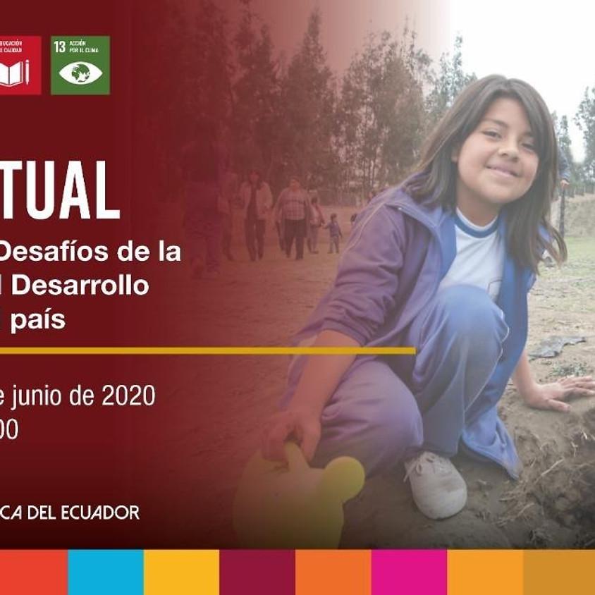 Oportunidades y Desafíos de la Educación para el DesarrolloSostenible para el país