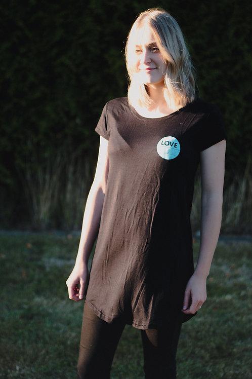 Love Over Fear T-Shirt Dress