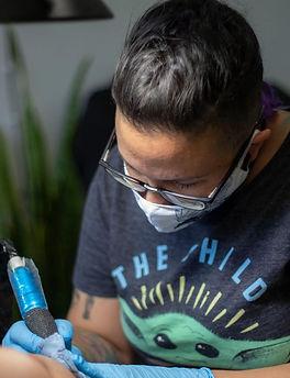 Mariana Groning Tatuadora Mexicana
