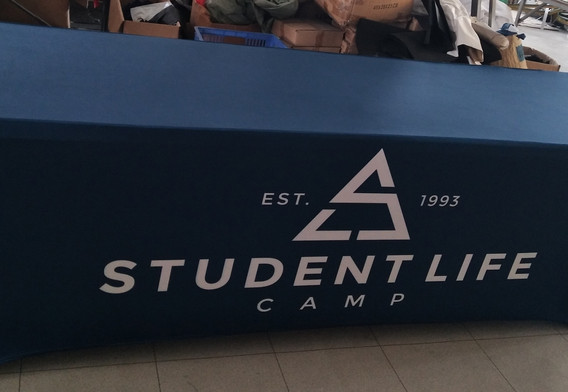 Student Life Table Cover