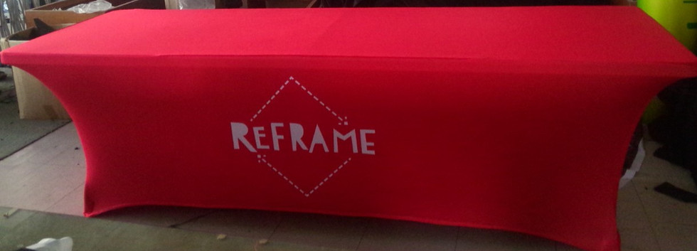 Reframe Table Cover